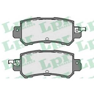 LPR 05P1756 Гальмівні колодки, дискові