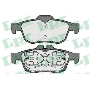 LPR 05P1761 Тормозные колодки