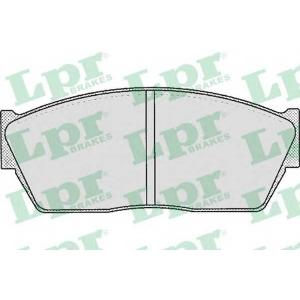 LPR 05P186 Brake Pad