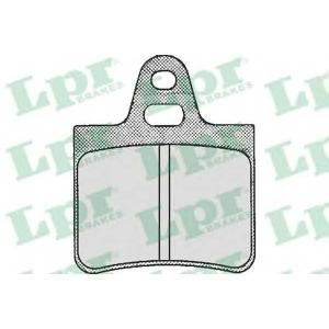 Комплект тормозных колодок, дисковый тормоз 05p194 lpr - CITRO?N BX (XB-_) Наклонная задняя часть 14 E