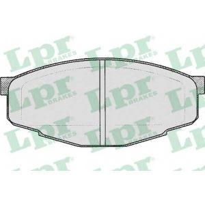 Комплект тормозных колодок, дисковый тормоз 05p200 lpr - TOYOTA CRESSIDA седан (_X6_) седан 2.0 (RX60)