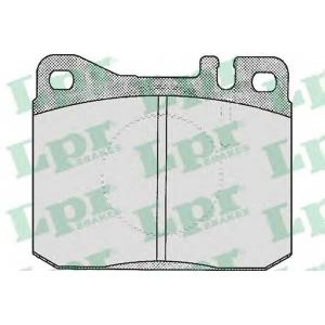 Комплект тормозных колодок, дисковый тормоз 05p211 lpr - MERCEDES-BENZ седан (W123) седан 250 (123.026)