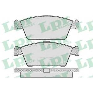 LPR 05P213 Тормозные колодки