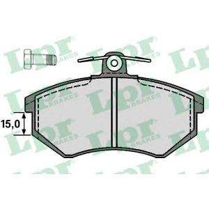 LPR 05P216 Тормозные колодки
