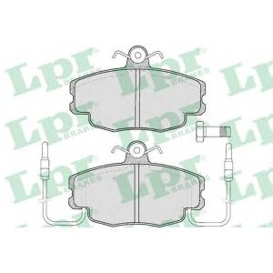 LPR 05P220 Тормозные колодки