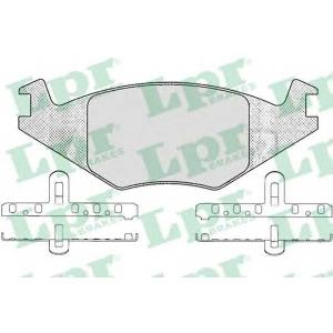LPR 05P223 SF2372 Тормозные колодки
