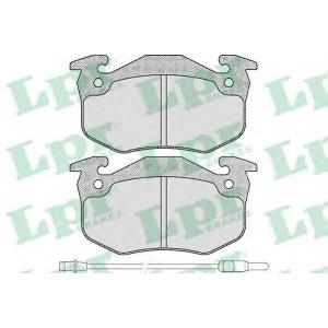 Комплект тормозных колодок, дисковый тормоз 05p231 lpr - RENAULT RAPID фургон (F40_, G40_) фургон 1.1 (F40H)