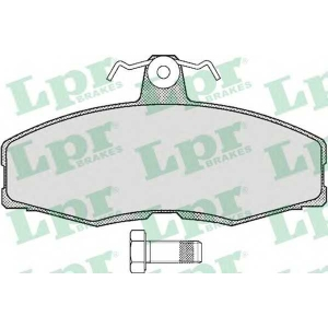 Комплект тормозных колодок, дисковый тормоз 05p234 lpr - SKODA FAVORIT пикап (787) пикап 1.3