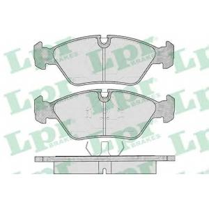 LPR 05P237 Тормозные колодки