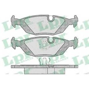 LPR 05P238 Тормозные колодки дисковые