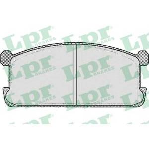 LPR 05P254 Тормозные колодки