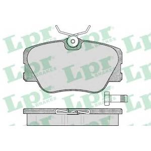LPR 05P280 Тормозные колодки
