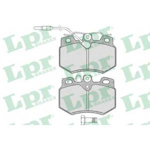 Комплект тормозных колодок, дисковый тормоз 05p282 lpr - PEUGEOT 205 II (20A/C) Наклонная задняя часть 1.7 Diesel