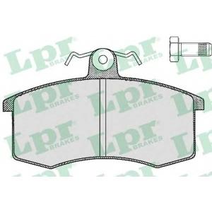 LPR 05P288 SF2417.1 Тормозные колодки Lada 2108-2109