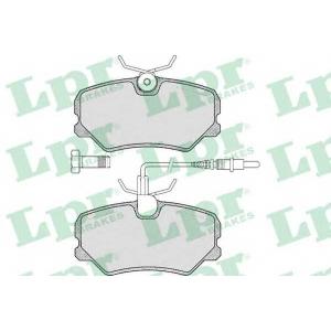 LPR 05P293 SF2463 Тормозные колодки