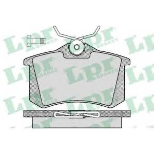 LPR 05P294 Тормозные колодки