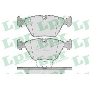 LPR 05P296 Тормозные колодки