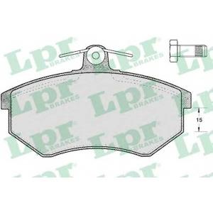 LPR 05P299 Тормозные колодки дисковые