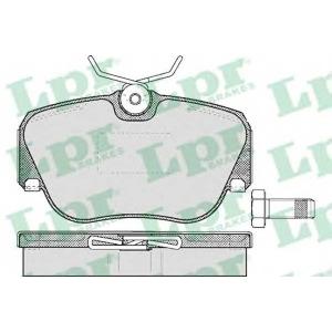 LPR 05P302 Тормозные колодки дисковые