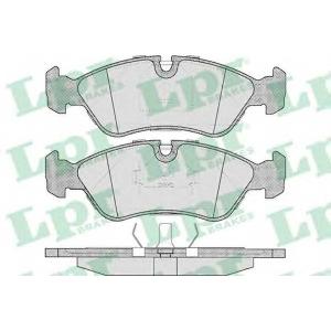 LPR 05P304 SF2484 Тормозные колодки передние Lanos 1.6i 16V