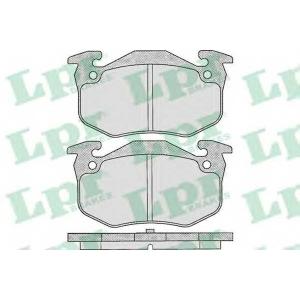 LPR 05P307 Тормозные колодки