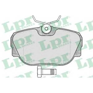 LPR 05P319 SF2578 Тормозные колодки