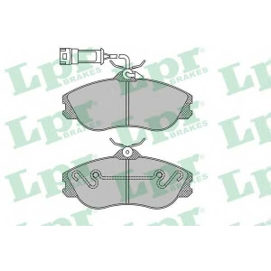 LPR 05P326 SF2622 Тормозные колодки
