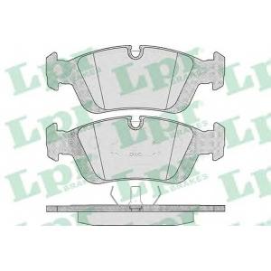 LPR 05P331 Тормозные колодки дисковые