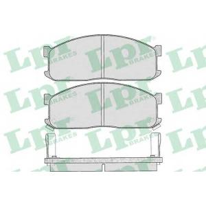 LPR 05P335 Комплект тормозных колодок, дисковый тормоз Киа Беста