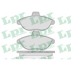 Комплект тормозных колодок, дисковый тормоз 05p346 lpr - CITRO?N JUMPY (U6U) вэн 1.9 TD
