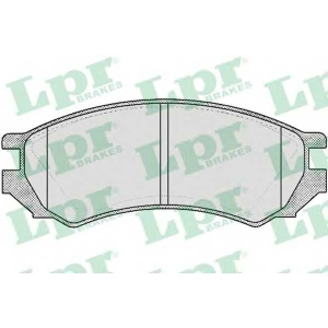 LPR 05P354 SF2633 Тормозные колодки