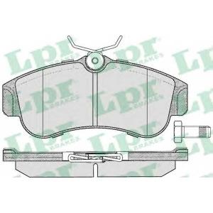 LPR 05P355 SF2632 Тормозные колодки