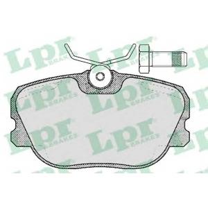 LPR 05P356 Brake Pad