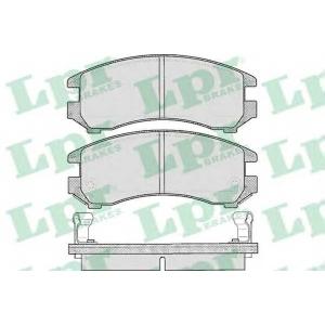 Комплект тормозных колодок, дисковый тормоз 05p363 lpr - NISSAN SUNNY II (N13) седан 1.7 D