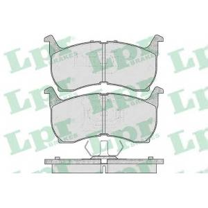 Комплект тормозных колодок, дисковый тормоз 05p368 lpr - MAZDA 626 II Hatchback (GC) Наклонная задняя часть 1.6