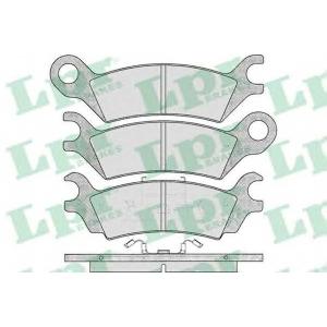 LPR 05P369 Комплект тормозных колодок, дисковый тормоз Мазда 929