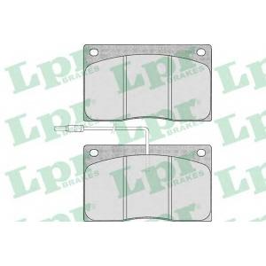 LPR 05P372 Комплект тормозных колодок, дисковый тормоз