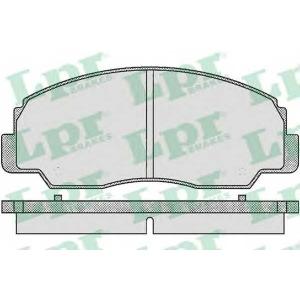 LPR 05P381 Комплект тормозных колодок, дисковый тормоз Дайхатсу