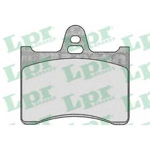 LPR 05P391 Комплект тормозных колодок, дисковый тормоз Ситроен Cx Брейк