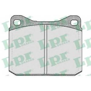 LPR 05P401 Тормозные колодки дисковые