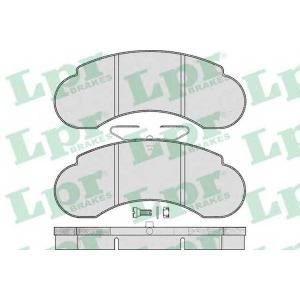 05p415 lpr Комплект тормозных колодок, дисковый тормоз MERCEDES-BENZ 100 c бортовой платформой/ходовая часть D (631.340)