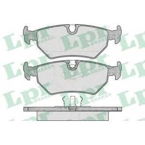 LPR 05P418 Комплект тормозных колодок, дисковый тормоз Ягуар