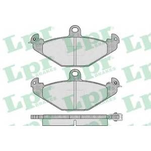 Комплект тормозных колодок, дисковый тормоз 05p427 lpr - RENAULT SAFRANE II (B54_) Наклонная задняя часть 2.0 16V (B54L)