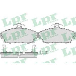 LPR 05P430 Тормозные колодки дисковые