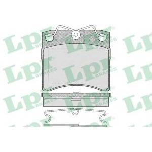 Комплект тормозных колодок, дисковый тормоз 05p437 lpr - VW TRANSPORTER IV автобус (70XB, 70XC, 7DB, 7DW) автобус 2.4 D Syncro