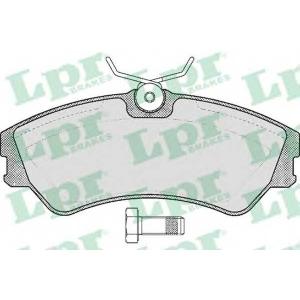 LPR 05P439 SF2680 Тормозные колодки