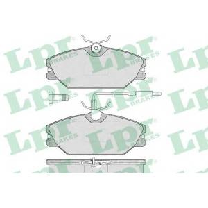 LPR 05P445 SF2684 Тормозные колодки
