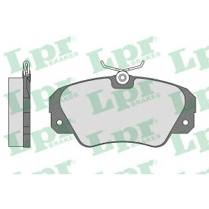 Комплект тормозных колодок, дисковый тормоз 05p449 lpr - OPEL OMEGA A (16_, 17_, 19_) седан 3.0 (3000)