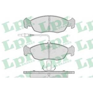 LPR 05P450 Комплект тормозных колодок, дисковый тормоз