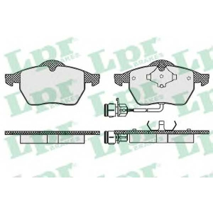 LPR 05P453 SF2659 Тормозные колодки